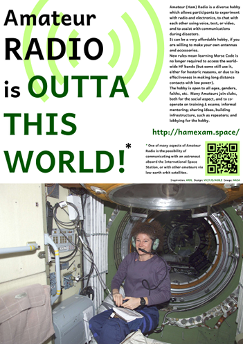 Amateur Radio is Outta this World